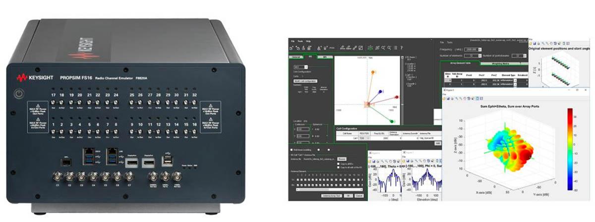 Keysightn PROPSIM FS16 RF Channel Emulator
