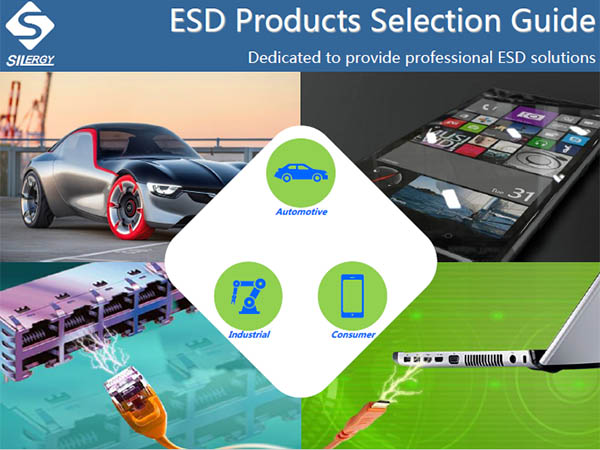 New ESD Products Selection Guide by Silergy