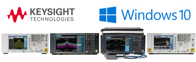 Keysight Windows 10 Upgrade